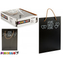 wholesale Decoration: hanging blackboard home sweet 26x36cm