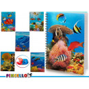 notebook a4 cap 3d aquarius 6 times assorted 196 p