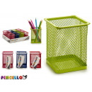 metal square holder colors 4 times assorted