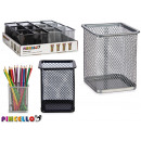 wholesale Gifts & Stationery: portaplaiz metal square colors 2 times assorted