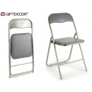 gray folding chair