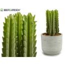 Cactus in plastica con spine alte 20 cm