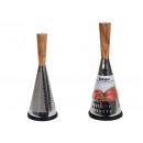 Großhandel Küchenutensilien: Reibe Edelstahl Griff Holz