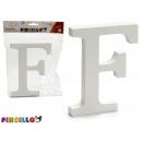 letter f white wood 1,8x15cm