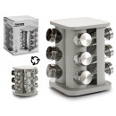 square stand spice 12 boats plat