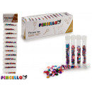 wholesale Gifts & Stationery: set of 12 tubes ornaments glitter shapes 4 ve