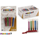 wholesale Pencils & Writing Instruments: set of 6 tubes metal colors 6x3gr glitter