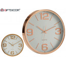 wholesale Clocks & Alarm Clocks: Round watch 40cm smooth assorted gold copper