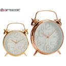 wholesale Clocks & Alarm Clocks: bell clock 24cm assorted gold copper