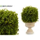artificial plant shrub round small leaf