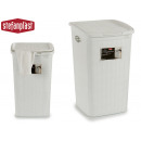 wash basket elegance 50l white