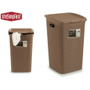 basket for wash elegance 50l beige