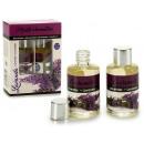 set of 2 bottles aromatic oil lavand