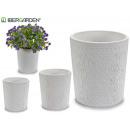 assortimento di vasi in ceramica bianca. 4 disegni
