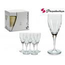 Set mit 6 Champagner-Lyrik-230cc-Gläsern