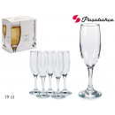 wholesale Household & Kitchen: set of 6 champagne glasses 19 cl bistro