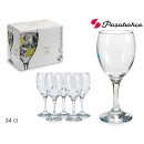 set of 6 glasses of water 34 cl imperial