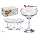 set of 6 glasses cava 27 cl bistro