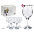Set mit 6 Gläsern Wasser 29 cl Bistro