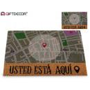 wholesale Carpets & Flooring:coco map 40x60cm map