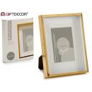 10x15cm gold paspartu aluminum photo frame