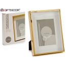 13x18cm gold paspartu aluminum photo frame