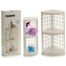 wholesale Bath Furniture & Accessories: white plastic shelving 3 floors