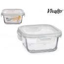 Lunchbox Glas 40cl Deckel silico