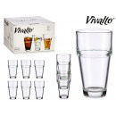 37 cl stackable glass tumbler
