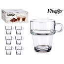 26cl stackable glass jug