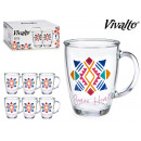 jug mug glass 32cl brave heart