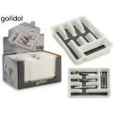 wholesale Other: plastic cutlery compartment 5 compartic silico bot