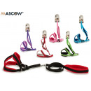 set of belt and harness pet small colors