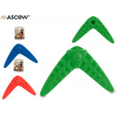 wholesale Outdoor Toys: pet teether boomerang colors 3 times assorted