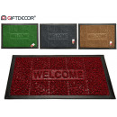 wholesale Gifts & Stationery: doormat rubber rectangular welcome 4 times ...
