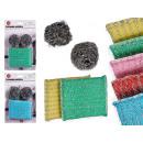 ingrosso Pulizia: set di 4 pagliette metalliche