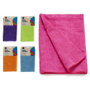 Smooth mixcrofibre cloth 40x60cm assorted 5 colors