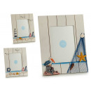 wood photo holder large sailor 4 times assorted