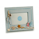 horizontal sailor wood picture holder