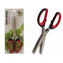 triple cut metal scissors