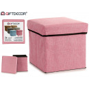 wholesale Garden & DIY store: basket for casting pink 31x31cm