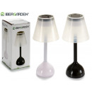 lamp solar tabletop plastic assorted white black