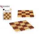 wholesale Table Linen: set of 3 square bamboo placemats