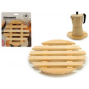 wholesale Kitchen Utensils: set of 2 round bamboo placemats