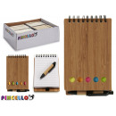 wholesale Booklets & Blocks: notepad bambu boli and posits 14,5x9cm 2 times sur
