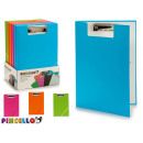 folder with clip and rubber a4 colors 4 times asso