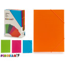 binder with rubber bands 4 colors 4 times assorted