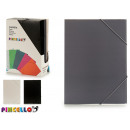 binder with a4 colored rubber 3 times assorted