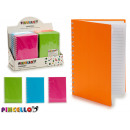 hardcover notebook a5 colors 4 times assorted live