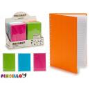 groothandel Stationery & Gifts: hardcover notebook a5 kleuren 4 maal geassorteerd